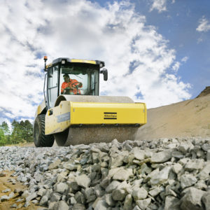 Dynapac CA2500 soil compactor roller