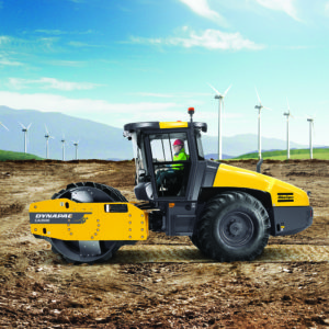 Dynapac CA roller, fifth generation soil compactor