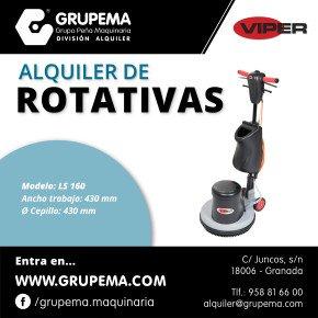 ALQUILER DE ROTATIVAS LS 160