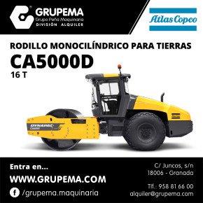 ALQUILER DE RODILLO ATLAS COPCO CA5000D