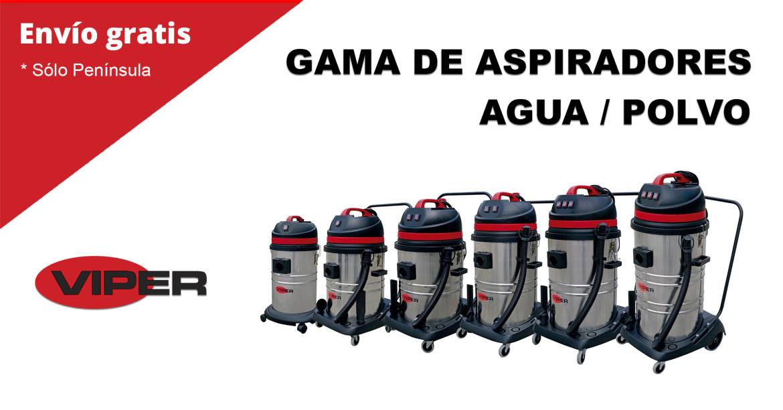 ASPIRADORES VIPER LSU AGUA POLVO ENVIO GRATIS