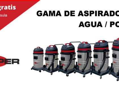 Aspiradores de Agua/Polvo Viper LSU