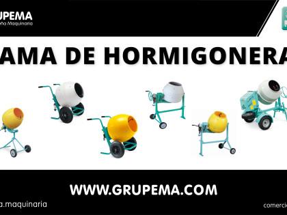Gama de Hormigoneras IMER