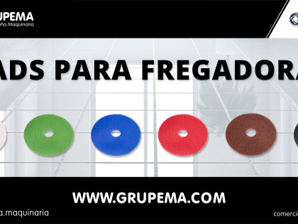 GAMA DE PADS PARA FREGADORAS