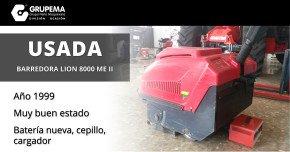 barredora lion 8000 me ii