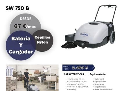 PROMOCIÓN | BARREDORA NILFISK SW 750