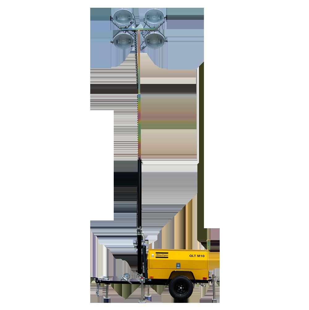 Torre De Iluminación Atlas Copco QLT M10
