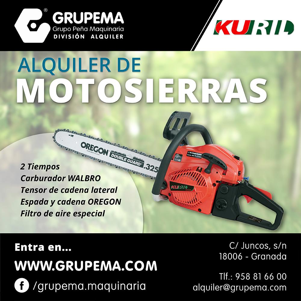 ALQUILER DE MOTOSIERRAS KURIL web