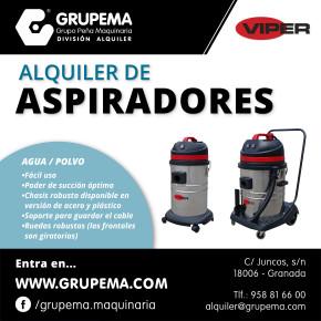 ALQUILER DE ASPIRADORES VIPER