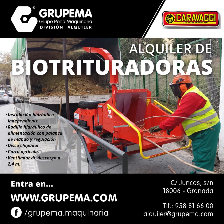 ALQUILER DE BIOTRITURADORAS