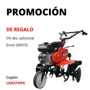 promoción motoazada kuril 750 + regalo