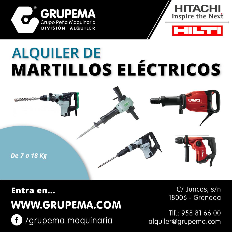 MARTILLOS ELÉCTRICOS