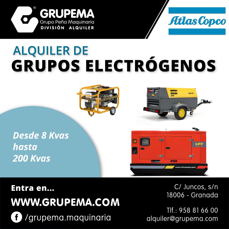 ALQUILER DE GRUPOS ELECTRÓGENOS