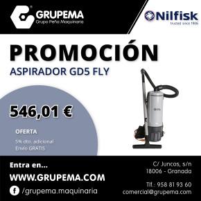 ASPIRADOR NILFISK GD5 FLY