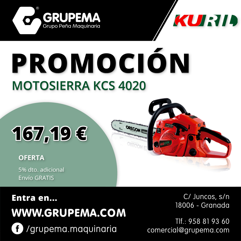 MOTOSIERRA KURIL KCS 4020