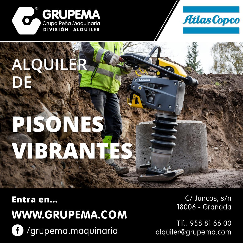 PISONES VIBRANTES LT 6005+