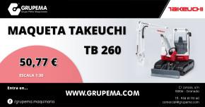 MAQUETA TAKEUCHI TB 260