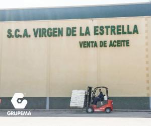 Entrega de ME 425 a S.C.A. Virgen de la Estrella, en Jaén.