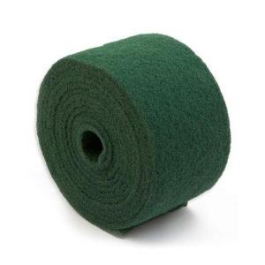 rollo de estropajo fibra verde fuerte, cisne