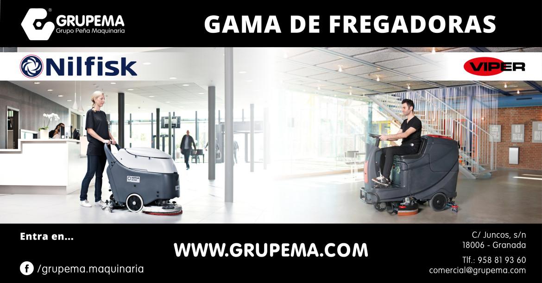 FREGADORAS AUTOMÁTICAS NILFISK Y VIPER