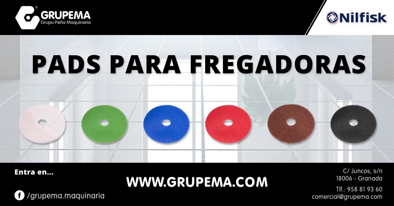 PADS PARA FREGADORAS AUTOMÁTICAS