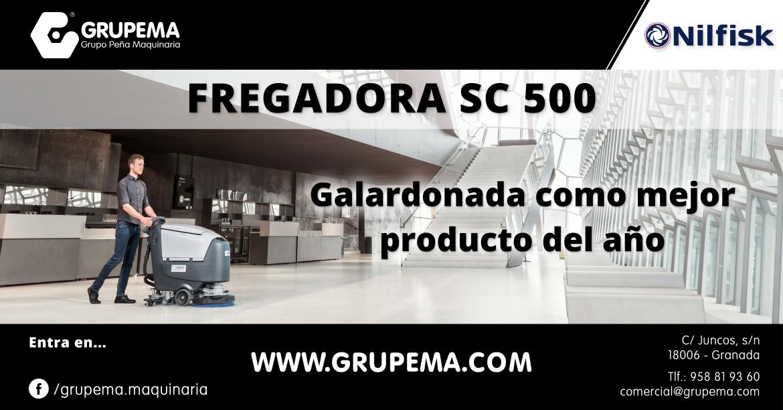 SC 500 galardonada como mejor producto del año