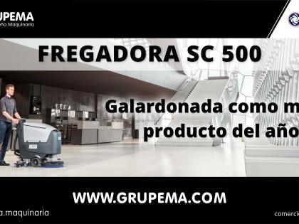 La fregadora Nilfisk SC500 galardonada como mejor producto del año