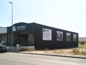 Fachada Jaén Grupema