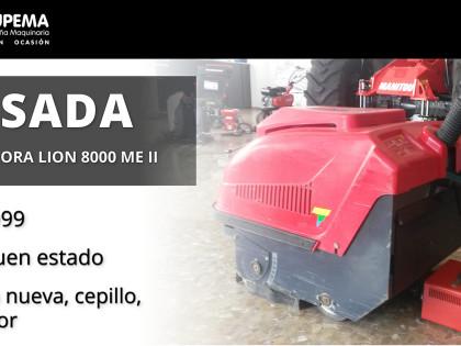 BARREDORA LION 8000 ME II – USADA