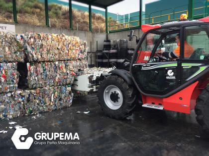 Entrega de MLT 634 a UTE Envases Ligeros Málaga