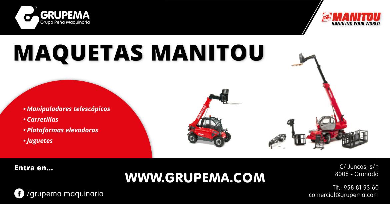 VENTA DE MAQUETAS MANITOU