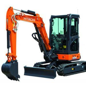 Mini-excavadora Hitachi ZX33U