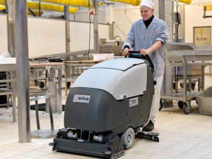Las fregadoras, aspiradores industriales e hidrolimpiadoras de alta presión aumentan la seguridad, la higiene y la eficiencia en la producción de alimentos.