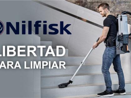 """Promoción Nilfisk: Nueva gama """"Libertad para limpiar"""""""