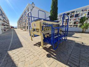 Entrega de portafétetros MTC Oruga Interfront en Arcos de la Frontera (Cádiz)